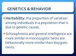 genetics behavior3