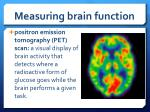 measuring brain function5