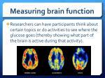 measuring brain function7