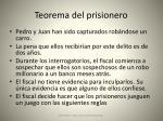 teorema del prisionero