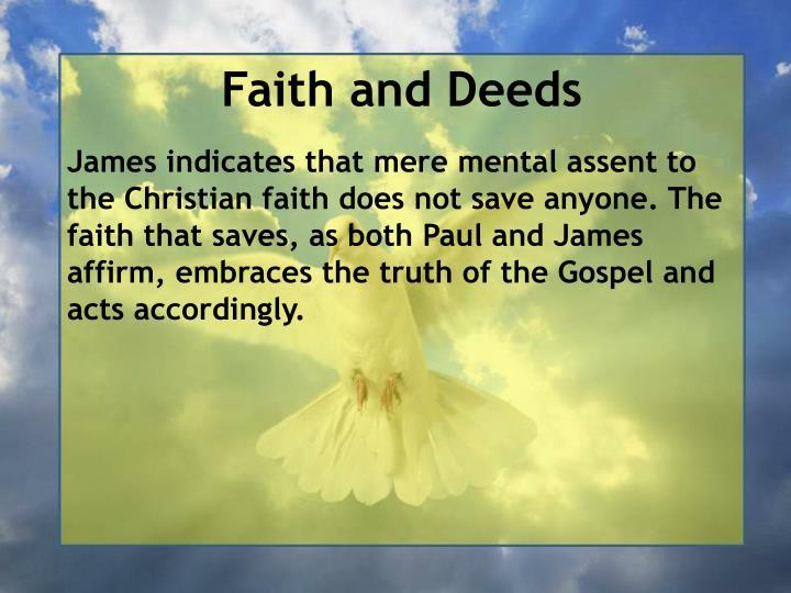 Faith and Deeds