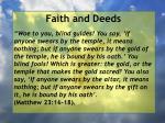 faith and deeds31