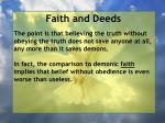 faith and deeds34