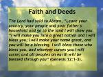 faith and deeds43