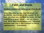 faith and deeds44