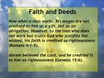 faith and deeds46