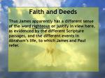 faith and deeds49