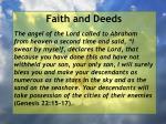 faith and deeds51