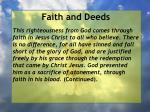 faith and deeds53
