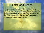faith and deeds58