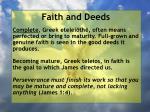 faith and deeds62
