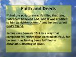faith and deeds64