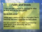 faith and deeds69