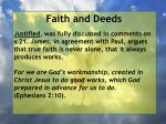 faith and deeds70