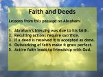 faith and deeds75
