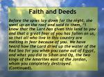 faith and deeds79