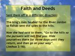 faith and deeds84