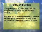 faith and deeds86
