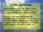 faith and deeds90