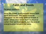 faith and deeds92