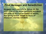 final messages and benediction10