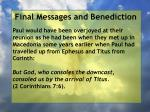 final messages and benediction2