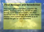 final messages and benediction4