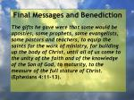 final messages and benediction5