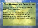 final messages and benediction7