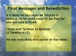 final messages and benediction9