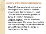 writers of the harlem renaissance