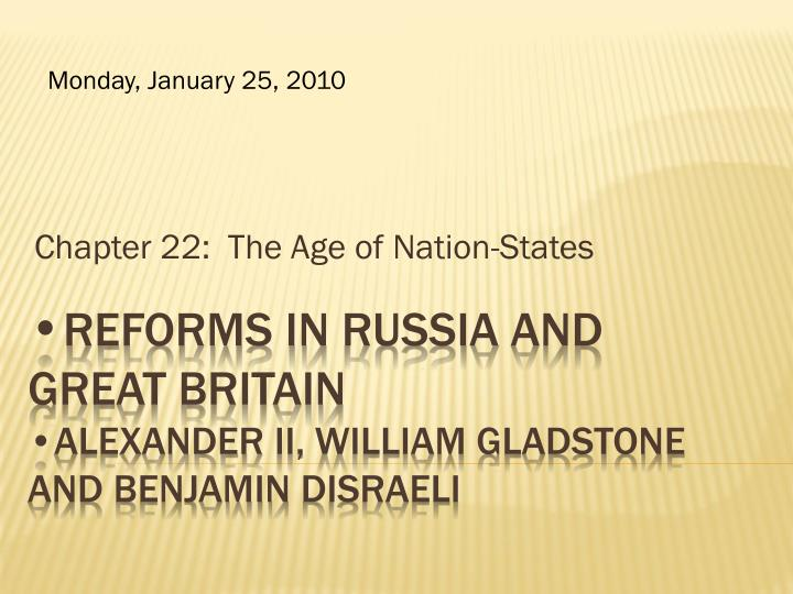 chapter 22 the age of nation states n.
