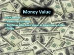 money value