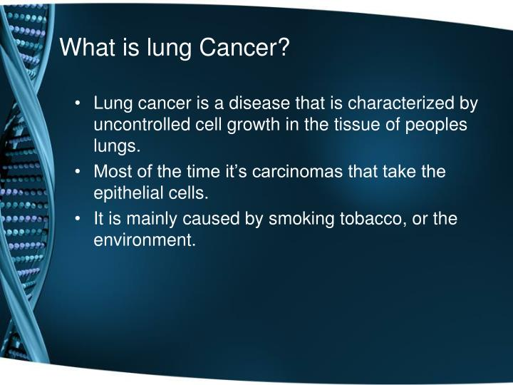 Ppt Lung Cancer Powerpoint Presentation Id2242097
