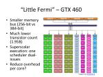 little fermi gtx 460