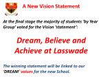 a new vision statement