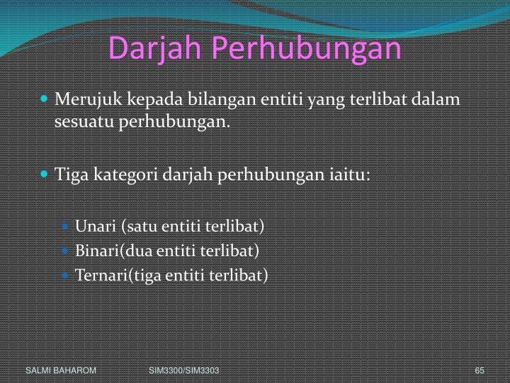 Darjah