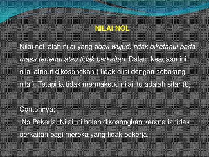 NILAI NOL