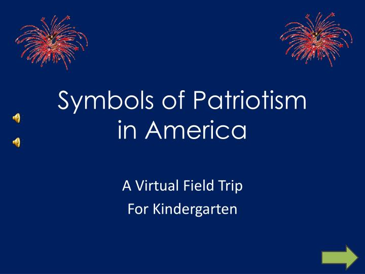 symbols of patriotism in america n.
