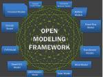 open modeling framework1