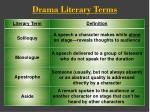 drama literary terms1