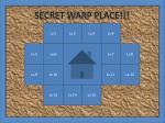 secret warp place