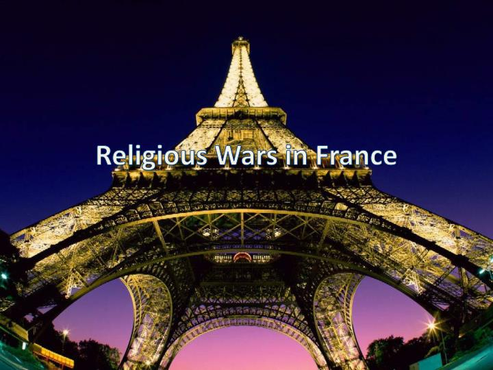 religious wars in france n.