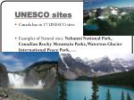 unesco sites