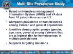 multi site prevalence study