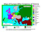 map of europe after congress of vienna