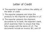 letter of credit2