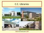c c libraries