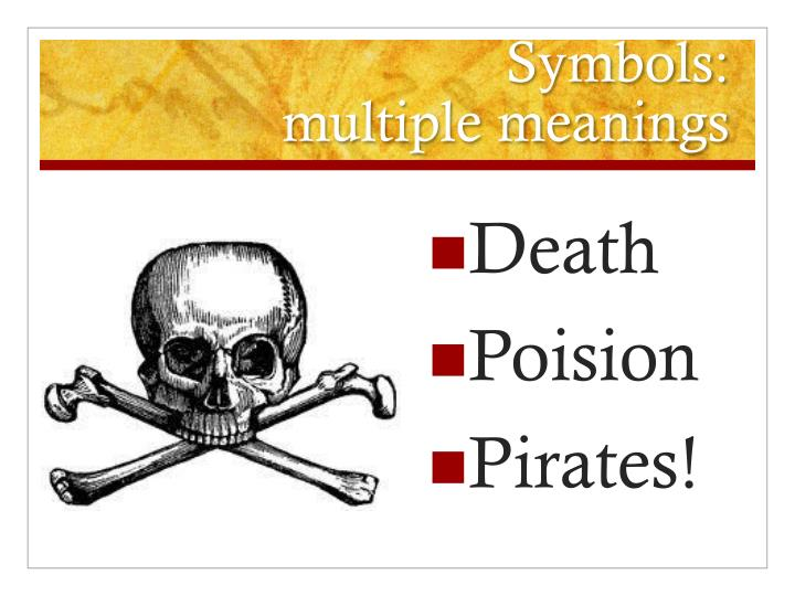 Ppt Symbols And Motifs Powerpoint Presentation Id2242472