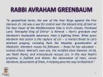 rabbi avraham greenbaum